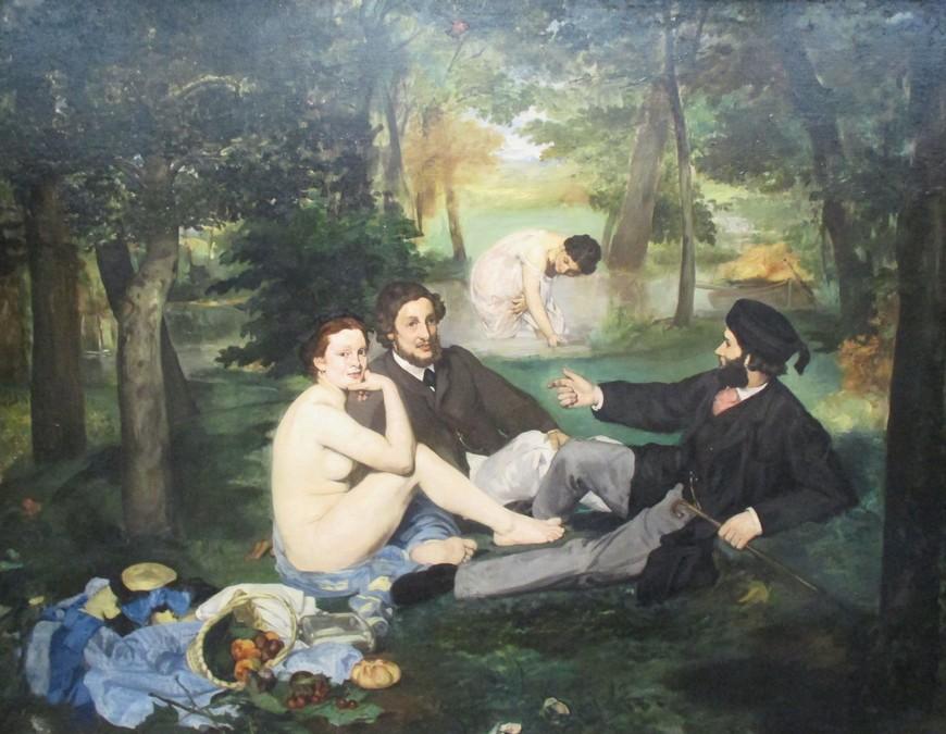 Le déjeuner sur l'herbe, Edouard manet, 1863