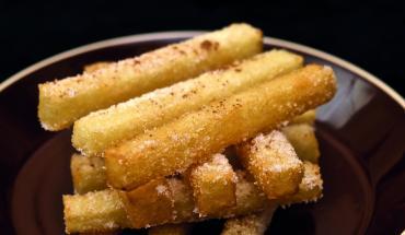 Cruchade Bordelaise dans une assiette