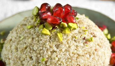 Bombe de quinoa