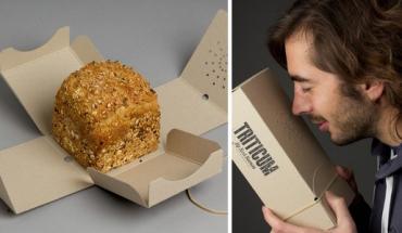 L'emballage perforé pour sentir le pain, par El Siento