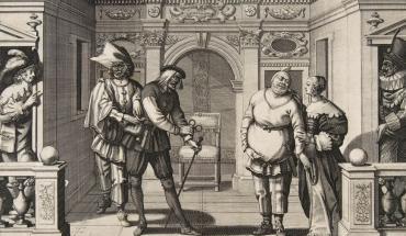 Gros Guillaume dans une gravure d'Abraham Bosse - 1634
