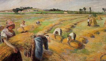 La moisson (1882) - Camille Pissaro