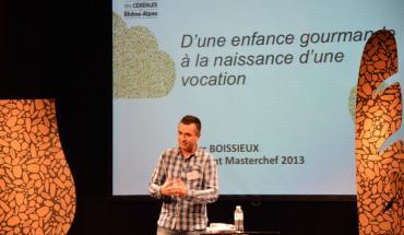 Marc Boissieux, gagnant de MasterChef 2013, évoque son imaginaire des céréales
