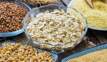 variétés de céréales avec et sans gluten