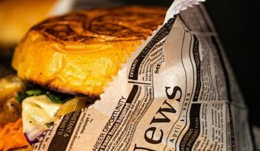 Cuisine de rue : burger et autres recettes de pains