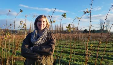 Laure Figeureu-Bidaud, 32 ans, agricultrice, Heuqueville (Eure, Normandie).