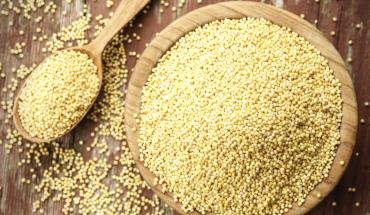 Assiette de millet