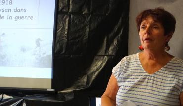 Nicole Fouassier en conférence