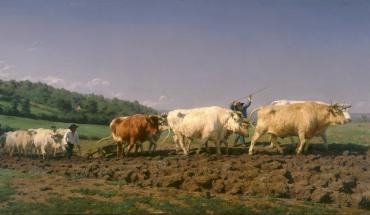 Labourage Nivernais - Rosa Bonheur - 1849