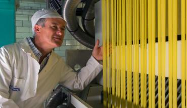 Fabrication de pâtes d'Alsace