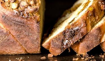 Recette de babka aux pistaches et à la cardamome