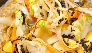 Recette de risotto épeautre aux légumes oubliés