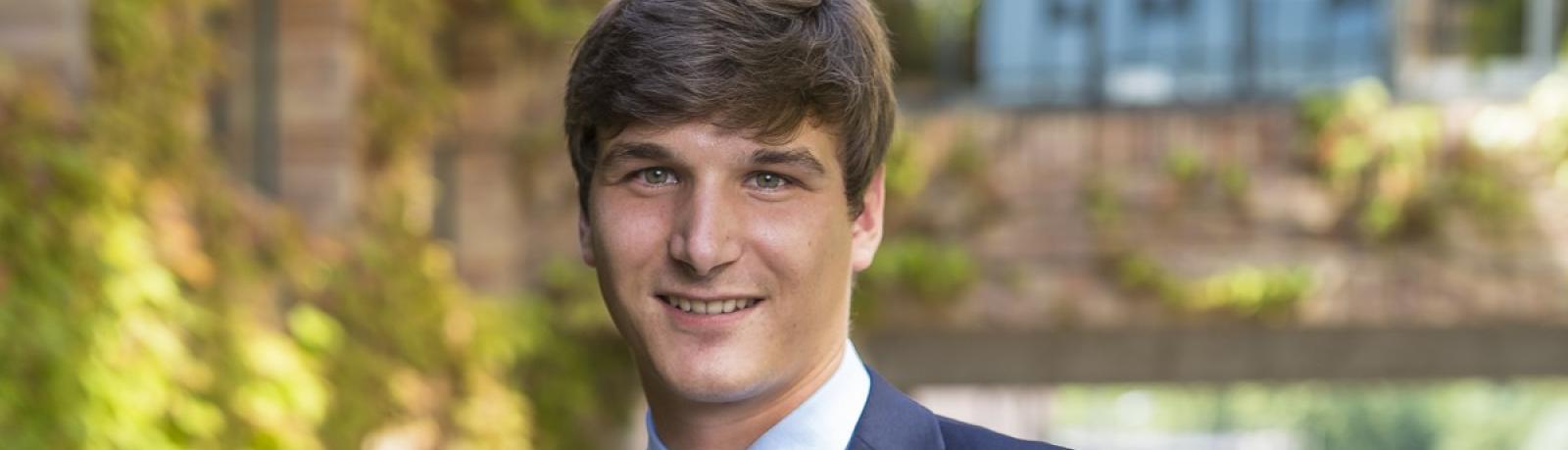 Clément Masson, 28 ans, commercial collecte bio (groupe Soufflet), Nogent-sur-Seine (Aube)