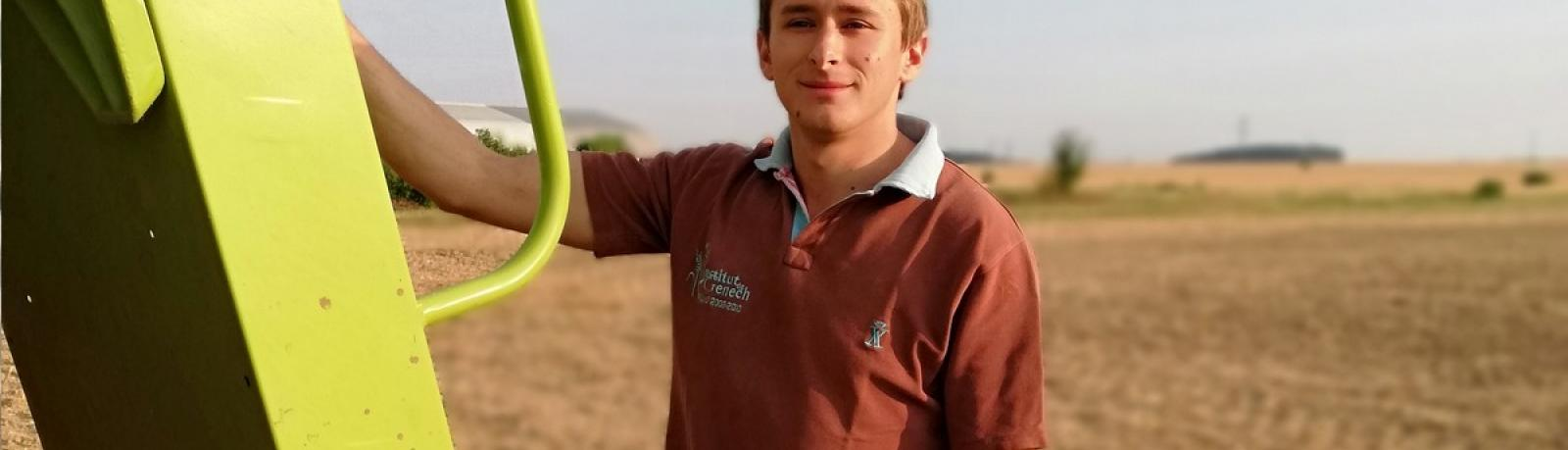 Vincent Bailly, 27 ans, agriculteur, Guyancourt (Yvelines)