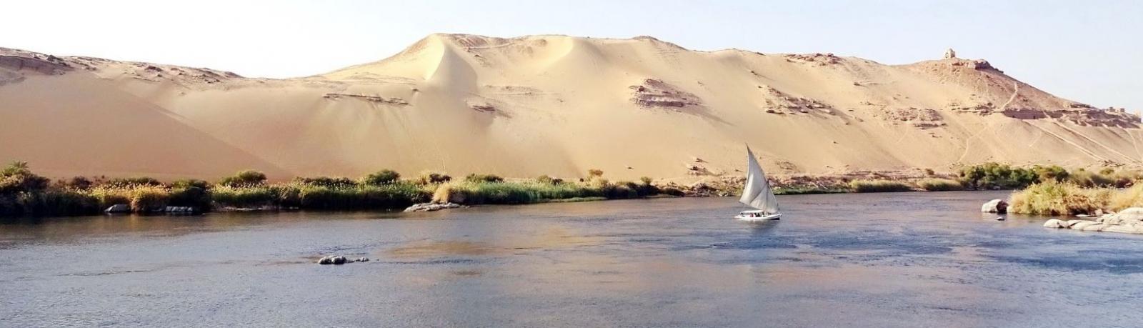 Voilier sur le Nil Egypte