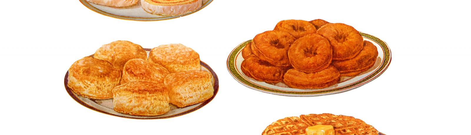 Gâteaux anciens français
