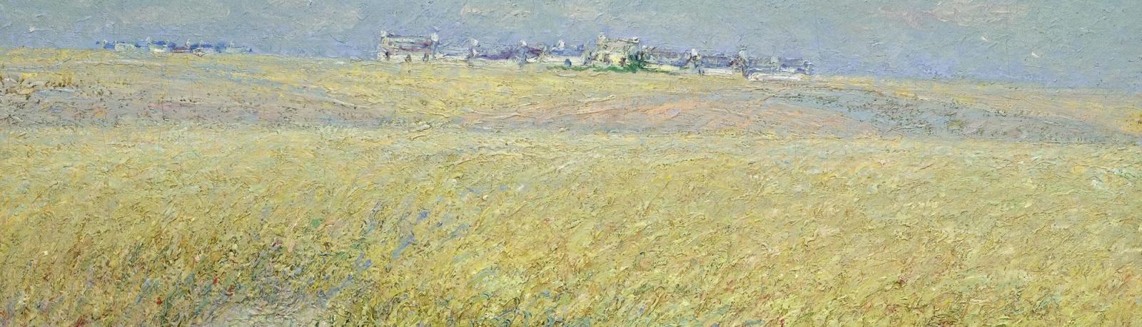 Gustave Loiseau, champ de blé